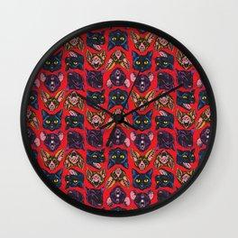 Bats! Cats! Rats! Wall Clock