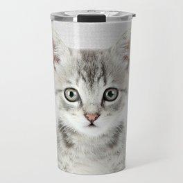 Kitten - Colorful Travel Mug
