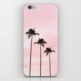 Palm Tree Photography Peach | Blush Pink | Millennial Pink | Miami iPhone Skin