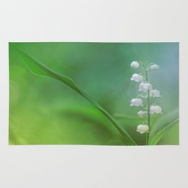 lily of the valley... Rug