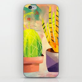 Cactus Friends iPhone Skin
