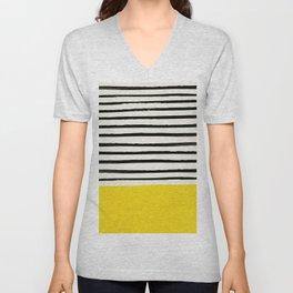 Sunshine x Stripes Unisex V-Neck