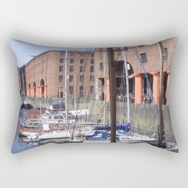 Albert Dock, Liverpool Rectangular Pillow
