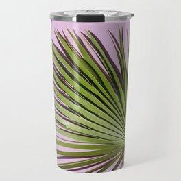 Palm on Lavender Travel Mug