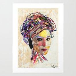 Desconectada Art Print