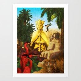 "Oscar Wilde's ""The Happy Prince"" Art Print"