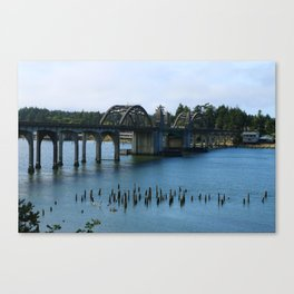 Siuslaw River Bridge - Florence Canvas Print