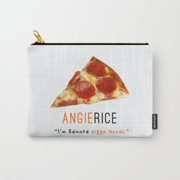 Angie Rice Pizza Hands | OITNB Carry-All Pouch