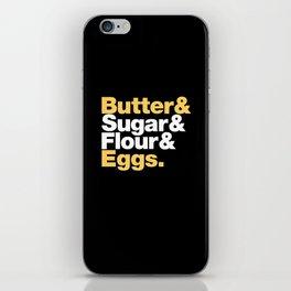 The Fab 4 - Baking (colour) iPhone Skin