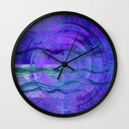 Jala (Water) Abstract Wall Clock