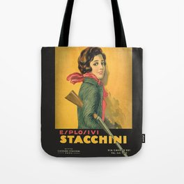 The Explosive Girl - 1929 Tote Bag