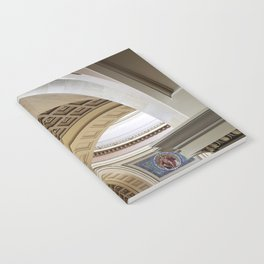 Wisconsin Capitol Building Arches And Angles Notebook