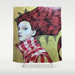 diva Shower Curtain