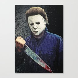 Michael Myers Canvas Print