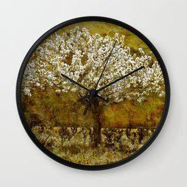 Le Cerisier Wall Clock