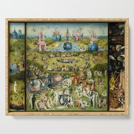 Hieronymus Bosch The Garden Of Earthly Delights Serving Tray
