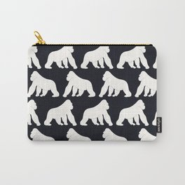 Gorillas White Carry-All Pouch