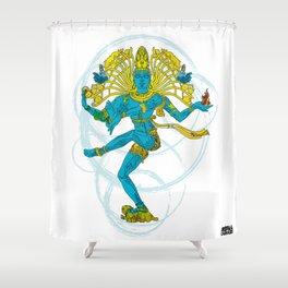 01 - SHIVA Shower Curtain