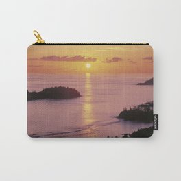 Sunset on Mahe island, the Seychelles Carry-All Pouch