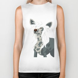 Chinese Crested Biker Tank
