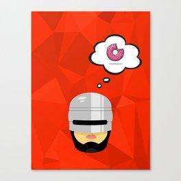 Robo Cop Canvas Print