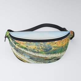 Catanzaro: view of the city and road Fanny Pack
