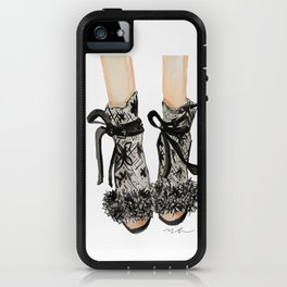 Designer Bridal Shoes iPhone Case
