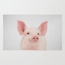 Pig - Colorful Rug