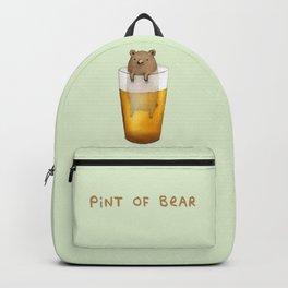 Pint of Bear Backpack