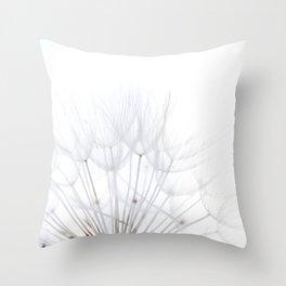 Dandelion * make a wish Throw Pillow