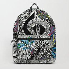 Musical Zentangle Backpack