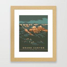 Grand Canyon National Park Poster Framed Art Print