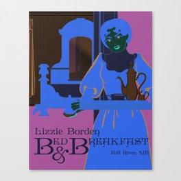 Lizzie Borden Bed & Breakfast Canvas Print