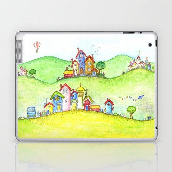 The hills Laptop & iPad Skin