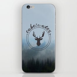 The Raven Cycle - Cabeswater (Woods) iPhone Skin