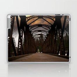 The Old Railway Bridge - Slovenia Laptop & iPad Skin