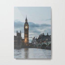 London, United Kingdom II Metal Print