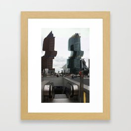 Archiglitch Framed Art Print