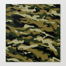 Army pattern Canvas Print