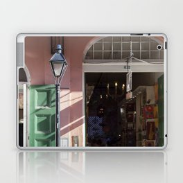 New Orleans Lampost on Royal Laptop & iPad Skin