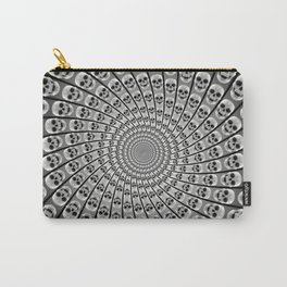 Spiral of Skulls Carry-All Pouch