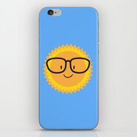 sunglasses iPhone & iPod Skins featuring Sunglasses by Danielle Podeszek