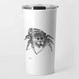 Inktober 2016: Jumping Spider Travel Mug