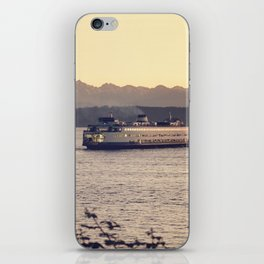 Puget Sound Ferry iPhone Skin