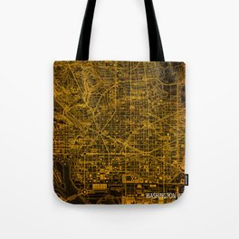 Washington West Columbia map year 1945 Tote Bag