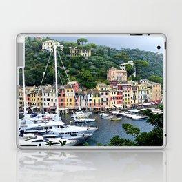 Portofino Harbour Italy Laptop & iPad Skin