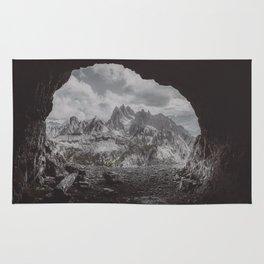 Fog in the Mountain Rug