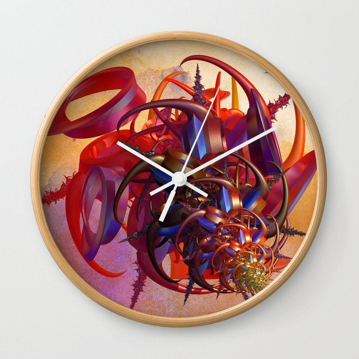 Sci-fi insect Wall Clock
