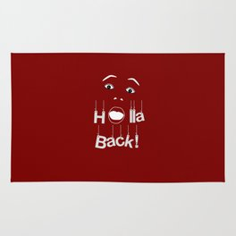 Holla Back: Red Rug