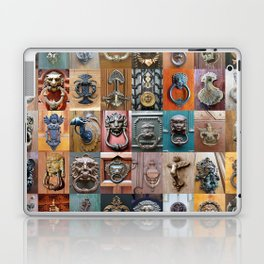 Door Knockers Montage Laptop & iPad Skin